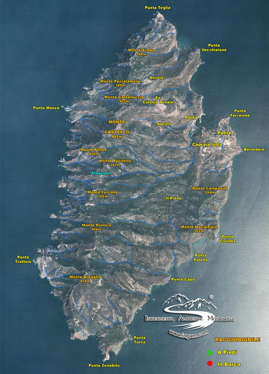 Monte Rio Ca >> Cale Capraia - Ingam - Ingegneria ambiente montagna ...